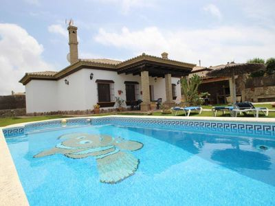 Photo for Fantastic Pool-Villa in Fuente del Gallo for 6 persons, near to the beach, with free WiFi