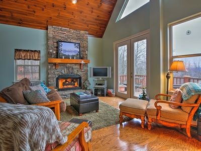 Photo for Hayesville Cottage w/ Stunning Lake & Mtn Views!