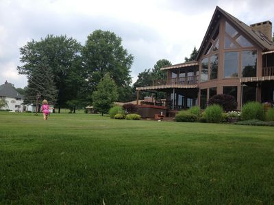Photo for Your own Private Estate on 110 Feet of Chautauqua Lakefront
