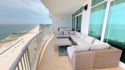 Recently Upgraded 3 Bedroom on 20th Floor; Awesome Balcony Furniture!