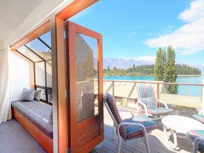 Photo for Sublime mountain and lake views | Sunny Balconies