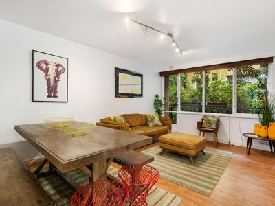 Photo for Retro Styled 3 Bedroom Apartment with Tree Views