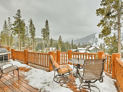 Photo for Winter Park Home w/Ski Hill Views, Sauna & Hot Tub