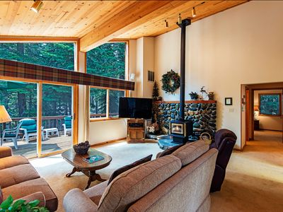 Photo for Northridge in Carnelian Bay-private home backs to greenbelt, minutes to Lake Tahoe, Squaw and Northstar!