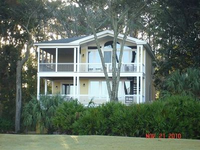 Photo for Gorgeous House with Spectacular Marsh View, Golf Cart!