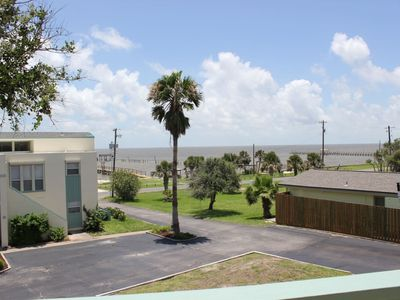 Photo for Rockport Racquet and Yacht Club condo with lovely bay views, tree covered grounds, pool, and fishing