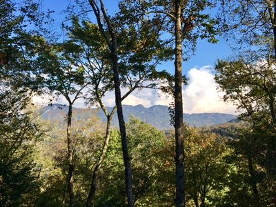 Mountain Views from Sugar Tree Getaway, They Get Better in Winter!