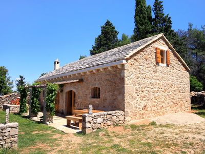 Photo for House in Humac (Hvar), capacity 4+3