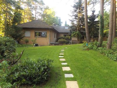Photo for Quiet separate apartment (angle bungalow) on a forest plot in Wietze