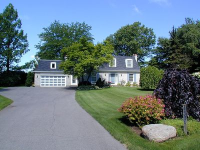 Photo for French country delight with pool, between vineyards and Niagara River, golf