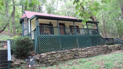 Buchman Cottage, Authentic Eureka Springs