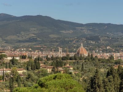 Photo for Terrace on Florence on the Arcetri hill near Piazzale Michelangelo