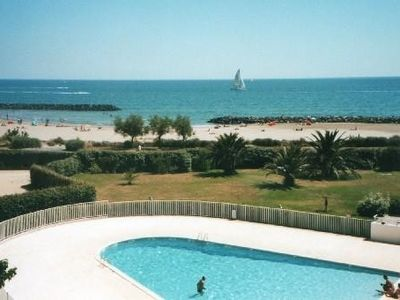 Photo for Cap d'Agde ROCHELONGUE 1 Line VIEW ON THE SEA T2 RENOVATED