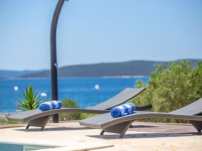 Photo for Beautiful Villa Gellia, in Dalmatia, near the Sea