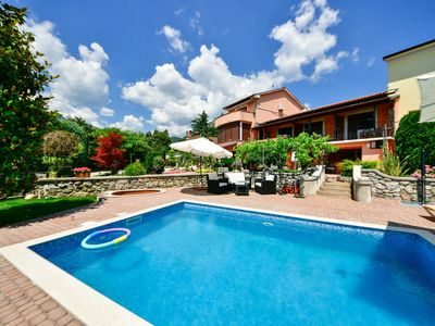 Photo for This 3-bedroom villa for up to 8 guests is located in Matulji and has a private swimming pool and Wi