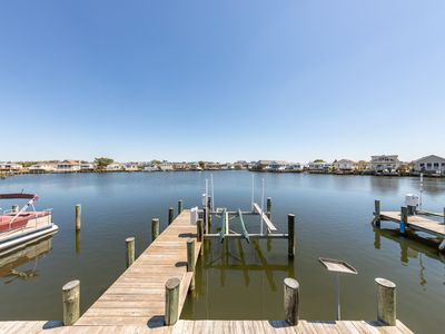 Photo for NEW LISTING! Bayfront mobile home w/ private dock, shared pools, & tennis court!