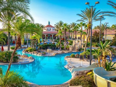 OPEN for bookings- ELITE villa at Regal Palms Resort. Lazy river/pools/spa/parks