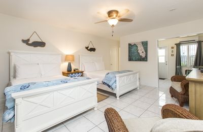 Photo for Junior Suite 2 Double Beds , Kitchen- Across The Street From Beach!