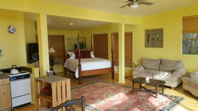 Photo for Garden Cottage - Peace, views, hot-tub and privacy. Romantic Wimberley getaway