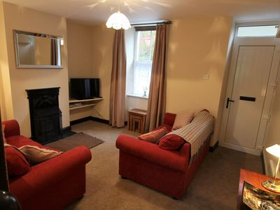 Photo for Cottage On The Banks Of The River Colwyn With Private Split Level Patio Area