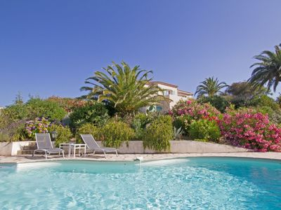 Photo for ABBRACCIU - Large villa with pool sea view 10 minutes from the beach