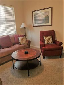 Coffee Table and Arm Chair