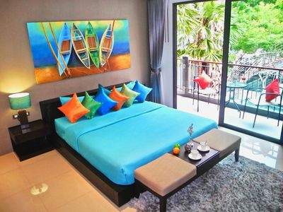 Photo for Well furnished studio with pool view!