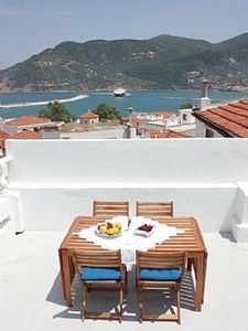 Photo for House in Skopelos Town, with Stunning Views