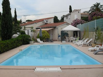 Photo for F4 villa rental - sleeps 8 with pool southern Corsica