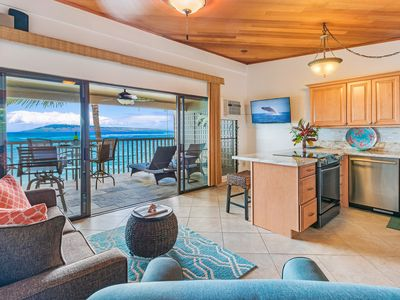 Photo for Oceanfront Condo 12 feet from ocean New Kitchen New King Bed Awesome ocean views