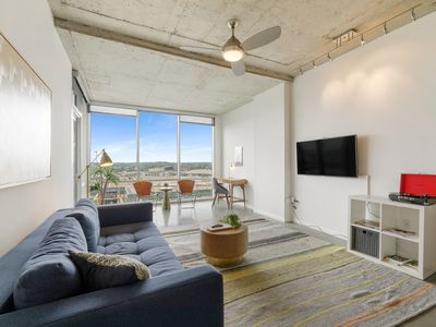 Photo for Kasa | Austin | Stunning 1BD/1BA 2nd Street District Apartment
