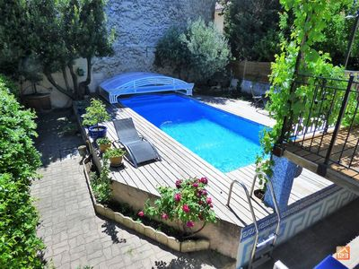 Photo for Beautiful House with pool, 4 bedrooms 2 steps Avignon Center - Ideal Festival