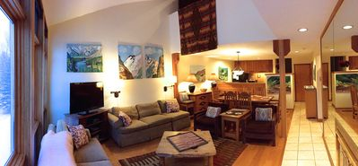 Photo for Jackson Hole 3BR/2BA, Ski and Summer Condo, Sleeps 7