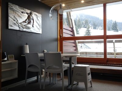 Photo for Comfortable studio 4 pers in the heart of the resort, ski in ski out