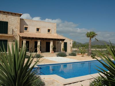 Photo for Recreation near Manacor in finca with private pool