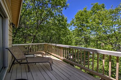 Spend quality time outdoors on either one of the home's 2 decks.