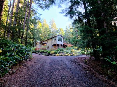 Photo for Yachats Vacation Rental Surround By Forest! Close to Ocean, Dog Friendly! FREE NIGHT!