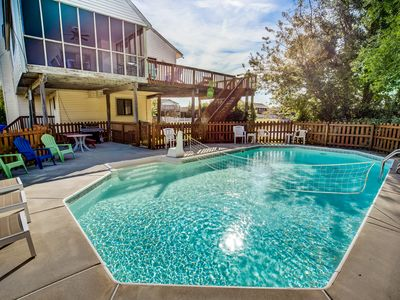 Photo for It's All Good | 780 ft from the beach | Dog Friendly, Private Pool, Hot Tub