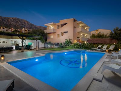 Photo for Villa Nautica - 7 bedrooms with heated swimming pool and children playground