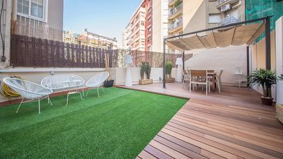 Photo for COMFORTABLE APARTMENT WITH AMAZING TERRACE - B426
