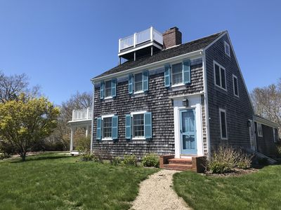 Photo for Private Chatham Family Retreat With Water Views - A/C, WiFi, Outdoor Grill