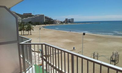 Photo for Cullera: Cullera BEACH FRONT WITH A / cond.
