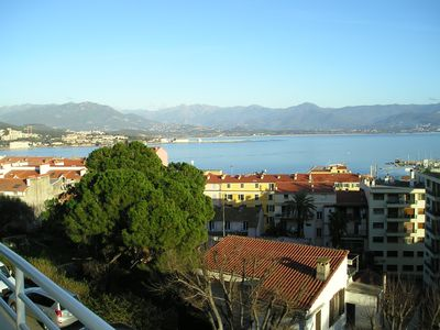 Photo for Very nice apartment entirely renovated of 100m ² in Ajaccio with beautiful sea view