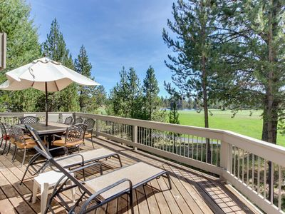 Photo for Spacious house w/ private hot tub, golf course views & furnished outdoor living