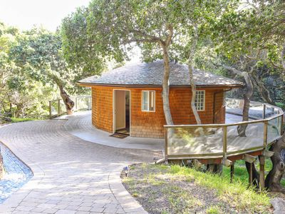 Photo for Relax in This Beautiful, Secluded Round House in the Trees!
