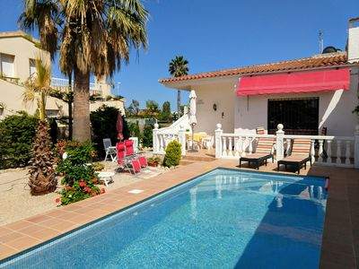 Photo for Holiday house with private pool on the Costa Dorada / Spain from 24. 08. free