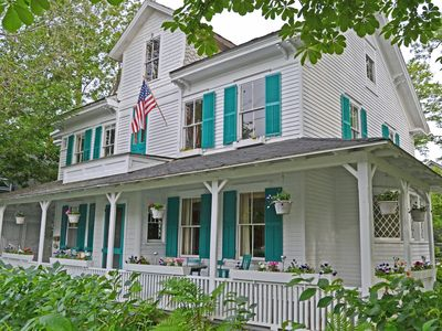 Photo for Petunia Cottage: Queen Anne Victorian Style Home In The Heart Of Bar Harbor