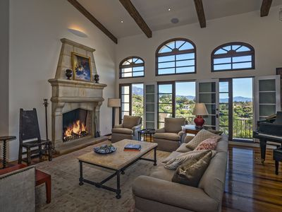 Photo for Stunning home in Montecito, ocean views, community pool - 3 month minimum: Eucalyptus Hill Escape