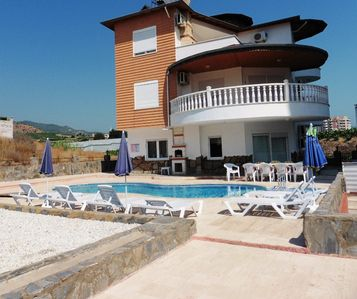 Photo for Alanya Villa with private Pool 10- 15 mins to Beach and Town Centre.