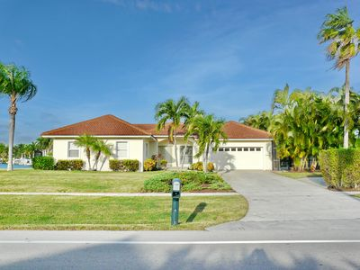 Photo for Waterside home w/ heated pool & short walk to Tigertail Beach